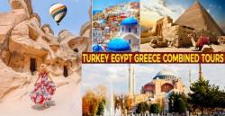 Turkey Egypt Greece Combined Tours