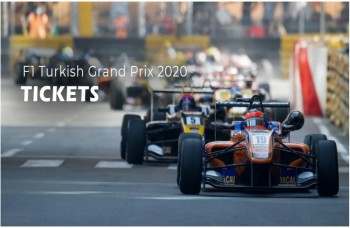Formula1 Turkish Grand Prix 2020 Tickets
